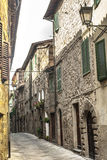 Abbadia San Salvatore Stockfoto