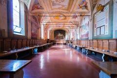 Abbagia Monte Olivieto Maggiore Imagenes de archivo