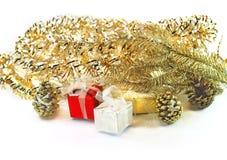 Abbagliamento di Natale Immagini Stock