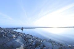 Abbagliamento Ventura California di Sun Fotografia Stock Libera da Diritti