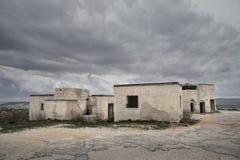 Abbandoned hus Arkivfoto