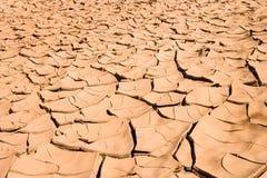 Abbandoni con fango asciugato a Taghjijt, Marocco immagine stock libera da diritti