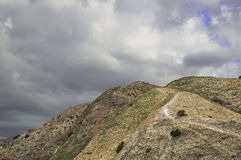 Abbandoni le montagne Immagine Stock Libera da Diritti