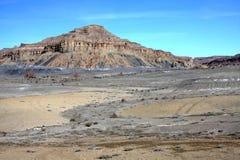 Abbandoni vicino al lago Powell, la pagina, Arizona, S.U.A. fotografie stock