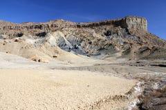 Abbandoni vicino al lago Powell, la pagina, Utah, S.U.A. immagine stock libera da diritti