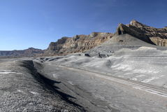 Abbandoni vicino al lago Powell, la pagina, Utah, S.U.A. immagine stock