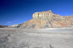 Abbandoni vicino al lago Powell, la pagina, Utah, S.U.A. fotografia stock