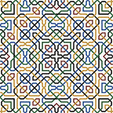 Abbas Seamless Pattern Fotografía de archivo