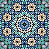 Abbas Seamless Pattern Four Lizenzfreies Stockbild
