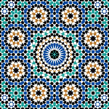 Abbas Seamless Pattern Four. Traditional Moorish Pattern Seamless Pattern Royalty Free Stock Image