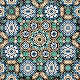Abbas Seamless Pattern Three Imagenes de archivo