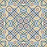 Abbas Seamless Pattern Stock Photography