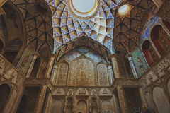 The Abbasian House in Kashan, Iran Royalty Free Stock Image