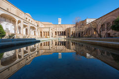 The Abbasian House in Kashan, Iran Stock Images