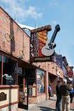 Abbassi Broadway, Nashville immagini stock libere da diritti