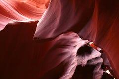 Abbassi il canyon del Antilope, Arizona, U.S.A. Fotografie Stock