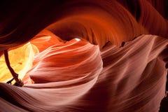 Abbassi il canyon dell'antilope Fotografia Stock