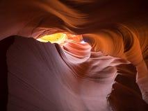 Abbassi il canyon dell'antilope Fotografie Stock