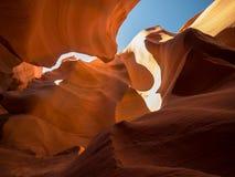 Abbassi il canyon dell'antilope Fotografie Stock Libere da Diritti