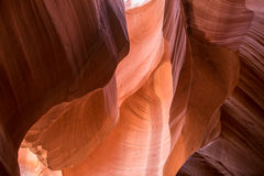 Abbassi il canyon IV dell'antilope Fotografia Stock