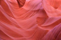 Abbassi il canyon n dell'antilope il pomeriggio Fotografia Stock