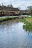 ABBASSI IL MACELLO, GLOUCESTERSHIRE/UK - 24 MARZO: Vista scenica di immagine stock