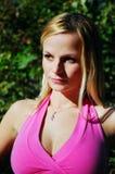 Abbastanza nel colore rosa Fotografie Stock