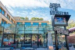ABBATheMuseumin Stockholm Lizenzfreie Stockfotos