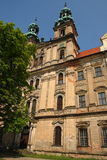 The abbatia lubensis abbey - facade Stock Photo