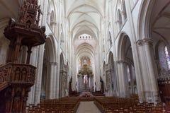 Abbatiale de la Trinite,  Fecamp, Normandie, Franc Stock Photos
