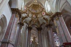 Abbatiale de la Benedictine, Fecamp, Normandie, Francia Fotos de archivo