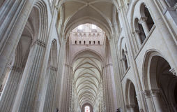Abbatiale de la Tinite, Fecamp, Normandie, Frankreich Stockfotografie