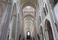 Abbatiale de la Trinite, Fecamp, Normandie, Francia Fotos de archivo libres de regalías
