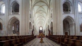 Abbatiale de la Trinite, Fecamp, Normandie, Francia Imágenes de archivo libres de regalías