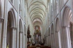 Abbatiale de la Trinite, Fecamp, Normandie, Frankreich Stockfotos