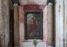 Abbatiale de la Trinite, Fecamp, Normandie, Frankrike Royaltyfri Bild