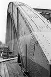 """Abbau der alten Brücke """"Floridsdorfer"""" Lizenzfreies Stockbild"""