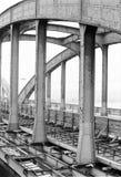 "Abbau der alten Brücke ""Floridsdorfer"" Lizenzfreie Stockfotografie"