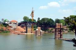Abbau der Brücke Lizenzfreie Stockbilder