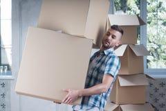 Abbau ist nicht einfache Sache Lizenzfreie Stockfotos