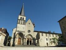 Abbaye Нотр-Дам Ambronay Стоковые Фотографии RF