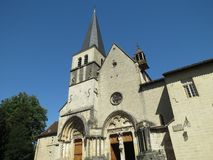 Abbaye Нотр-Дам Ambronay Стоковое Изображение RF