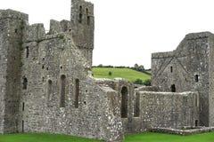 Abbaye bénédictine détruite après décret de Henry VIII images libres de droits