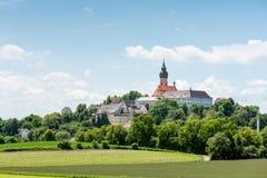 Abbaye bénédictine d'Andechs - panorama Images libres de droits