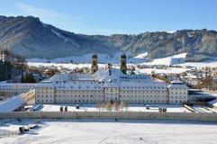 Abbaye bénédictine d'Einsiedeln photos libres de droits