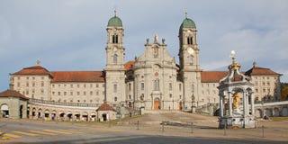 Abbaye bénédictine d'Einsiedeln photo libre de droits