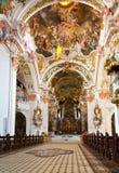 Abbaye bénédictine d'Einsiedeln, Suisse photo libre de droits