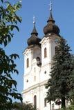 Abbaye bénédictine dans Tihany Photographie stock libre de droits