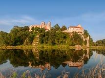 Abbaye bénédictine dans Tyniec, Cracovie, Pologne Images libres de droits