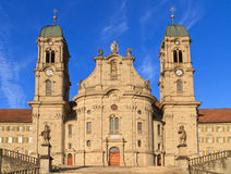 Abbaye bénédictine suisse d'Einsiedeln image libre de droits